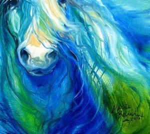 Detail Image for art BLUE HAZE FREISIAN