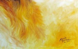 Detail Image for art SADIE WOO GOLDEN RETRIEVER