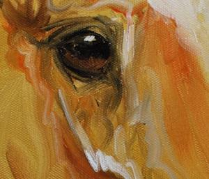 Detail Image for art GOLD DUST EQUINE