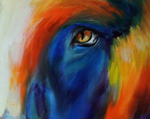 Detail Image for art BEAR ~ Commissioned Oil Original