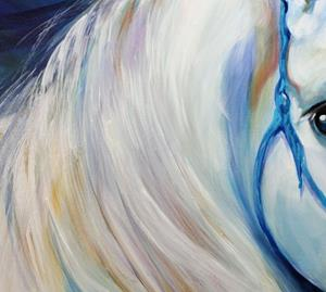 Detail Image for art MADDIE the ANGEL HORSE