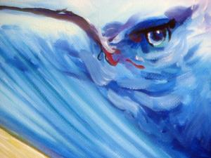 Detail Image for art MINKE WHALE PROJECT COMMISSIONED ~ SOLD