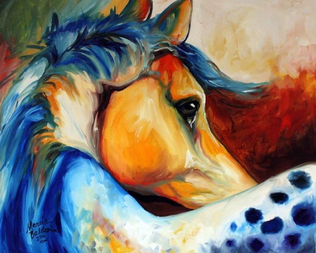 Art: APPALOOSA BEYOND by Artist Marcia Baldwin