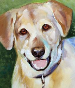 Detail Image for art BELOVED PET PORTRAIT ~ LAB