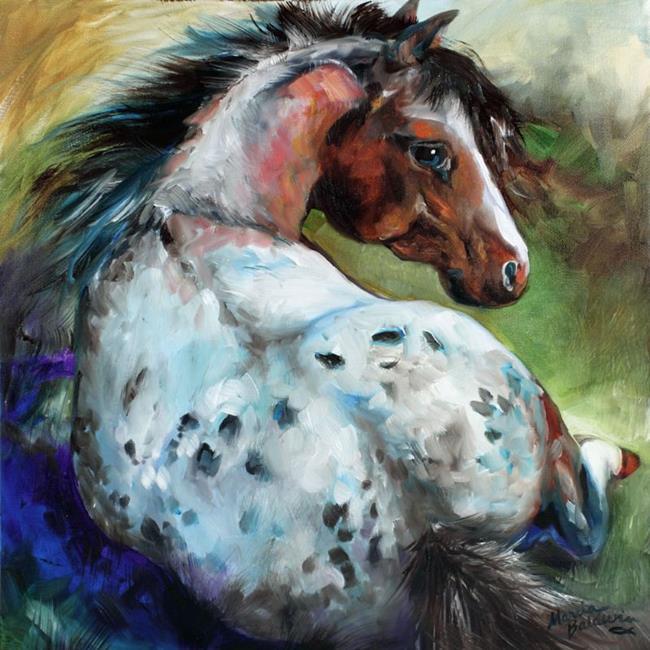 Art: RESTING by Artist Marcia Baldwin