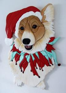 Detail Image for art CORGI SANTA ..