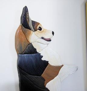 Detail Image for art CORGI TRI,,,,