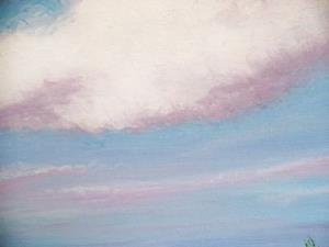 Detail Image for art SPRING CLOUDS SOLD