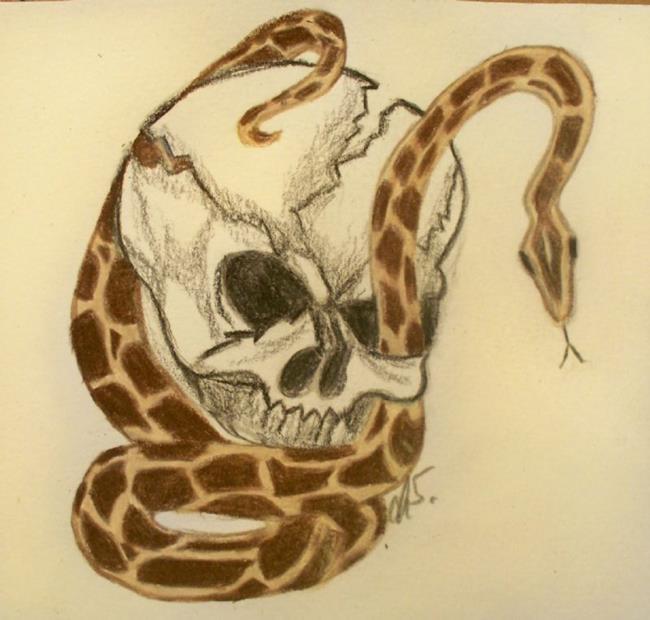 Art: ETERNAL FREINDS by Artist christi lynn schwartzkopf