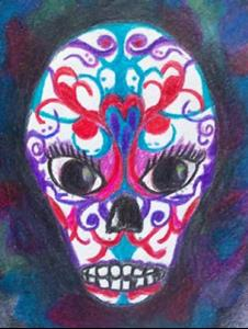 Detail Image for art Sugar Skull