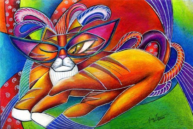 Art: YIKES IN FULL REGALIA by Artist Alma Lee