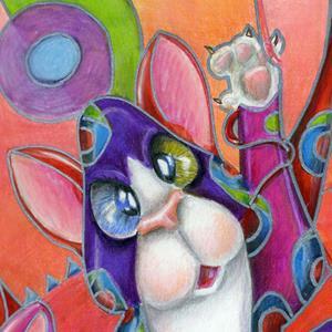 Detail Image for art Kittygarden 101