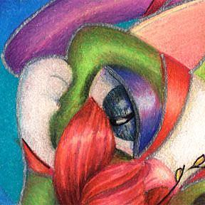 Detail Image for art Libby and the Lilly (SOLD)