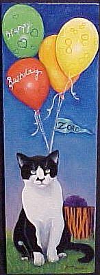 Art: Zorro's Birthday by Artist Rosemary Margaret Daunis