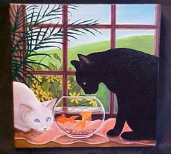 Art: Curiosity by Artist Rosemary Margaret Daunis