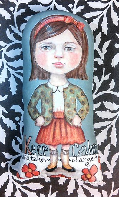 Art: Keep Calm by Artist Catherine Darling Hostetter