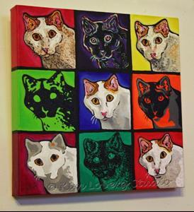 Detail Image for art Nine Faces Of Bob