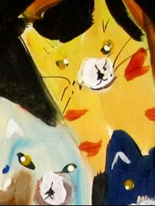 Detail Image for art Cats