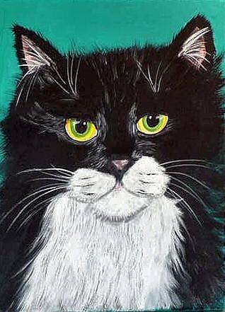 Art: Sylvester by Artist Dia Spriggs