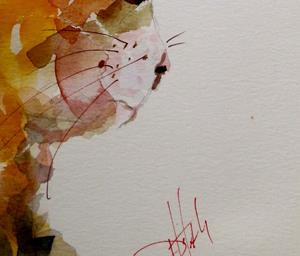 Detail Image for art Calico Cat