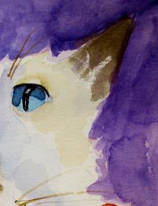 Detail Image for art White Cat