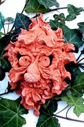 Art: Forest Green Man by Artist Cathy  (Kate) Johnson