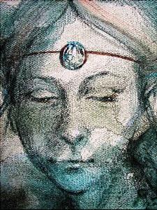 Detail Image for art Young Celtic Madonna