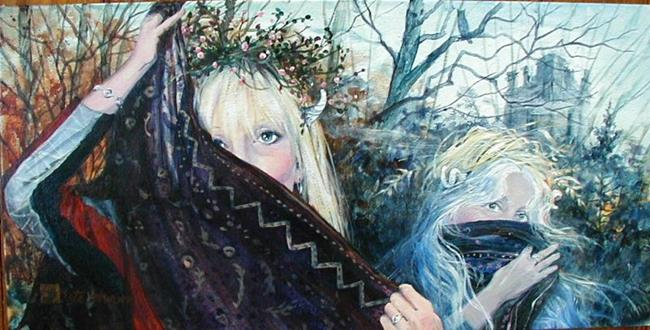 Art: NFS The Maiden and the Crone by Artist Cathy  (Kate) Johnson