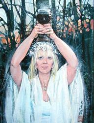 Art: Offering by Artist Cathy  (Kate) Johnson