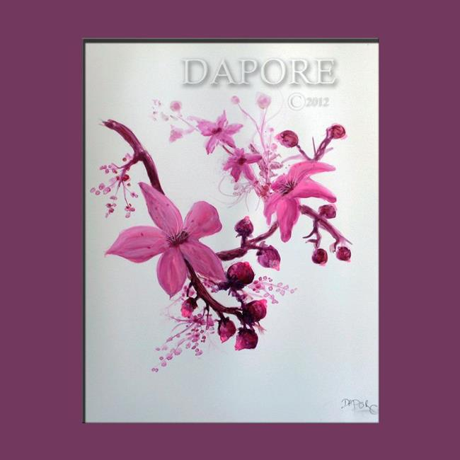 Art: cherry blossom 29 by Artist Theo Dapore