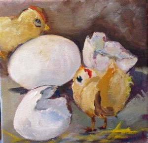 Detail Image for art Easter Chick
