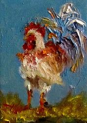 Art: No Spring Chicken by Artist Delilah Smith