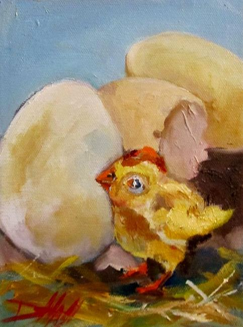 Art: Hatched-sold by Artist Delilah Smith