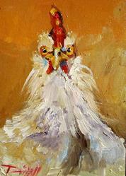 Art: Arizona Chicken by Artist Delilah Smith