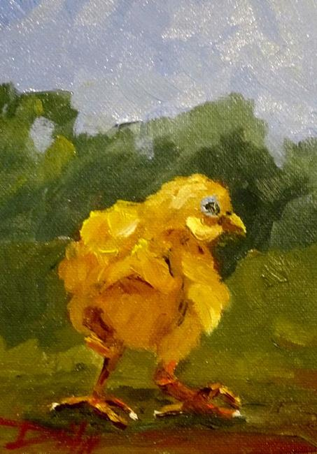 Art: Little Chick No.2 by Artist Delilah Smith