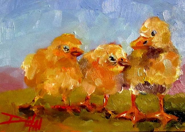 Art: Chick Chick Duck by Artist Delilah Smith