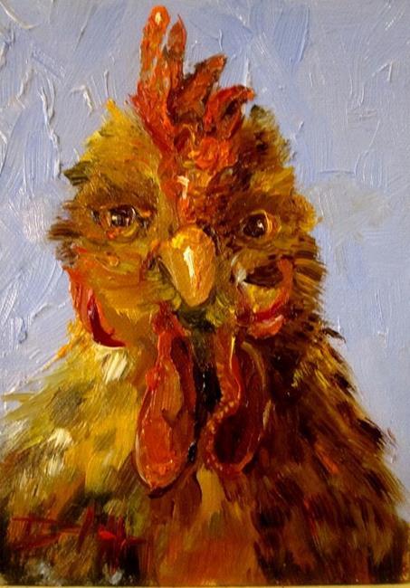 Art: Hen (557x800).jpg by Artist Delilah Smith