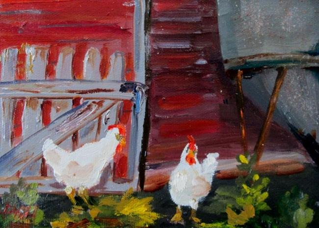 Art: Just Chickens by Artist Delilah Smith