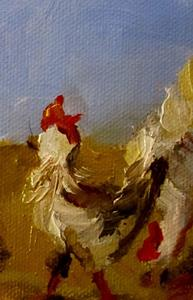 Detail Image for art Pecking Order No. 2
