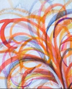 Detail Image for art Sunrise Rooster-sold
