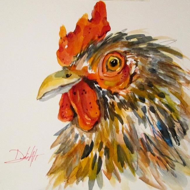 Art: Rooster No. 5-SOLD by Artist Delilah Smith