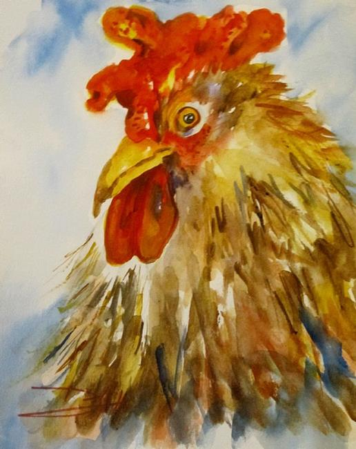 Art: Rooster No. 20 by Artist Delilah Smith