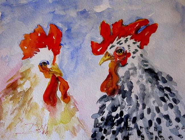 Art: Beak to Beak by Artist Delilah Smith