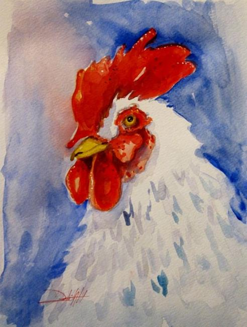 Art: Rooster No.23 by Artist Delilah Smith