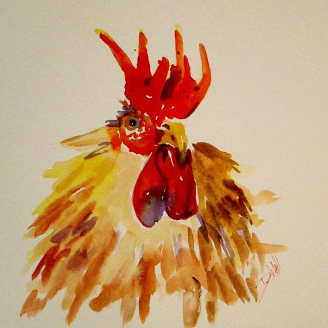 Art: Rooster No. 18 by Artist Delilah Smith
