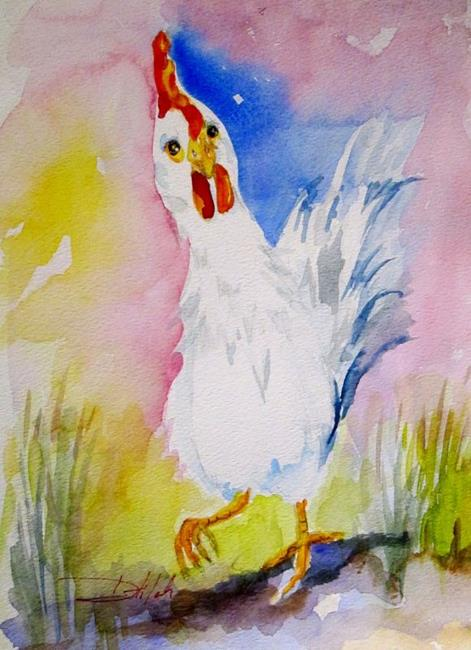 Art: Rooster No. 26 by Artist Delilah Smith