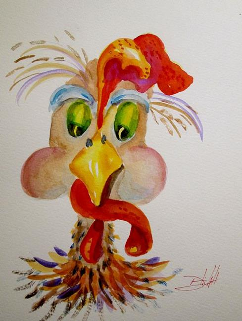Art: Mr Rooster by Artist Delilah Smith