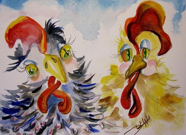 Art: Odd Couple No. 4 by Artist Delilah Smith