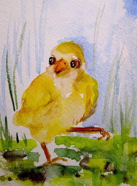 Art: Duckling by Artist Delilah Smith