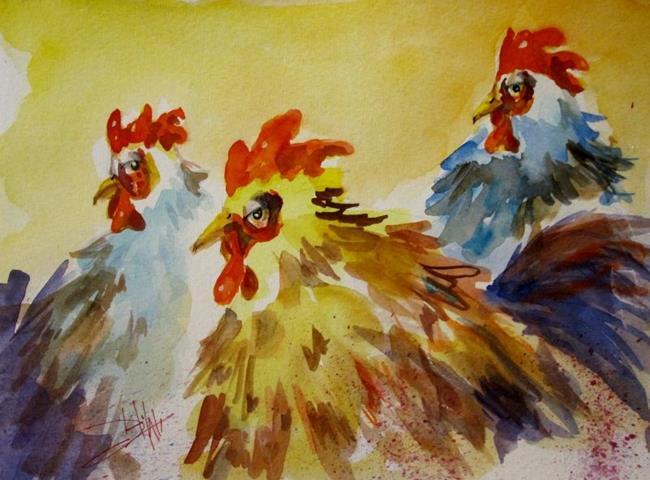 Art: Sharp Dressed Chicken by Artist Delilah Smith